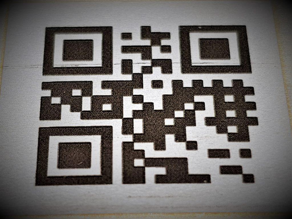 Lasersko označevanje kod