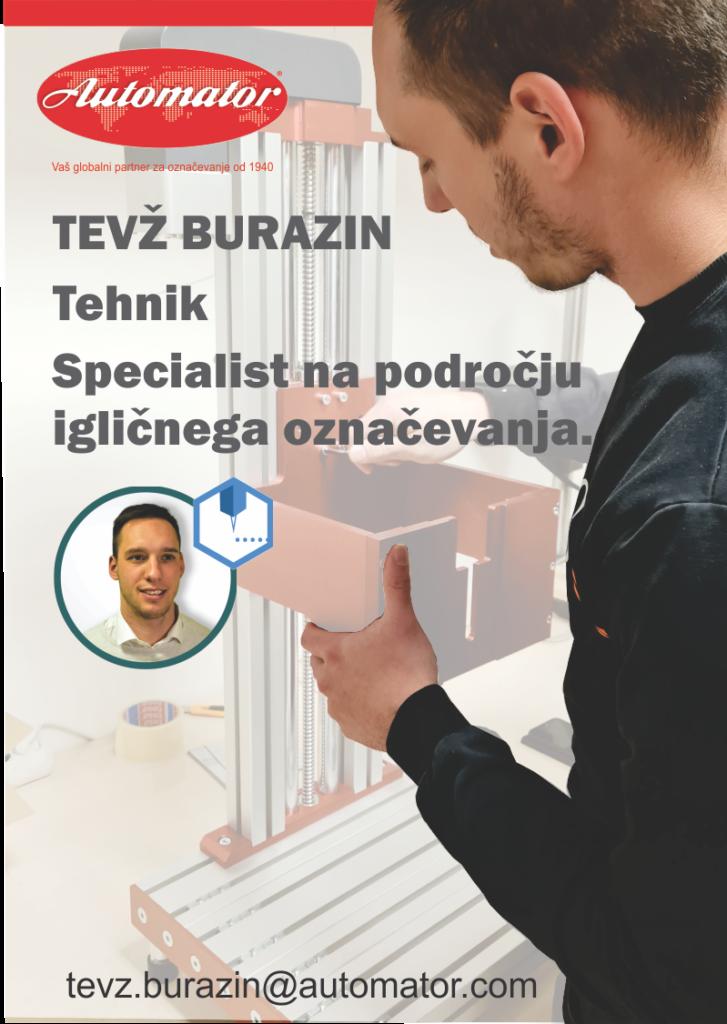 Predstavitev sodelavca – Tevž Burazin